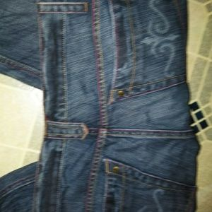 K jeans kevin christina project run way jeans